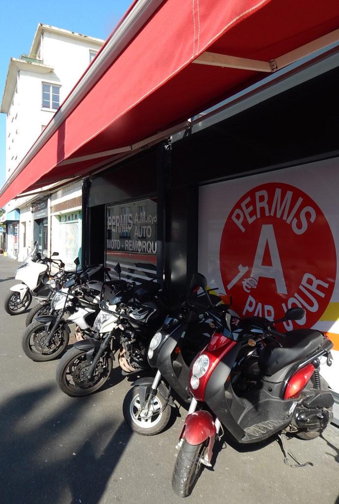permis scooter automoto-école Romain